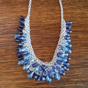 Jewelry - FINAL PRICE Blue and Silver Colored Necklace